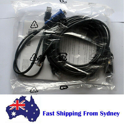 Dell 0HG526 USB Server System Interface Pod Cable Kit with 0UF366 KVM Module