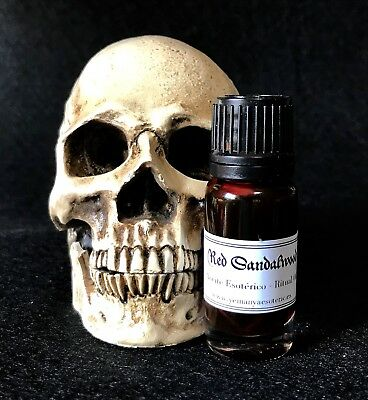 • Red Sandalwood • RITUAL OIL ANOINTING • SPELL WICCA