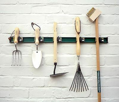 Burgon and Ball garden tool rack.  Keep your shed or garage tidy.