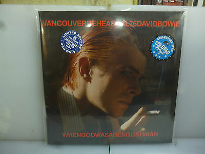 David Bowie-Vancouver Rehearsal 76. Canada 1976.-2Lp Blue Vinyl-New.sealed