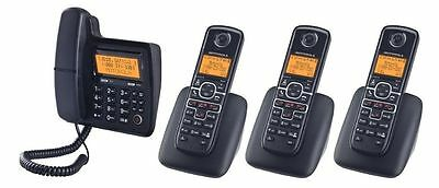 Motorola Digital Corded/Cordless Phone System w/ Answering Machine MOTO-L704C