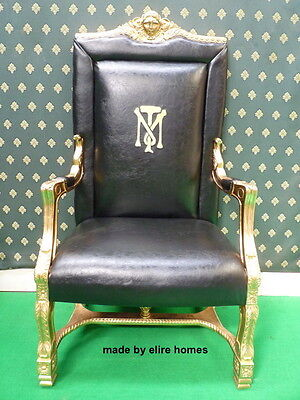UK STOCK Tony Montana AlPacino scarface designer film movie prop seat armchair