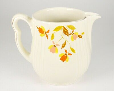 Vintage Superior Hall China by Mary Dunbar Autumn Leaf Water Pitcher Kitchenware