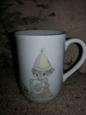 Precious Moments 1985 Clown Mug Collection