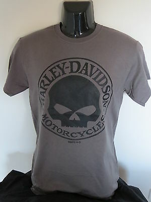 Harley Davidson Willie G Charcoal Mens T-Shirt - Assorted Sizes