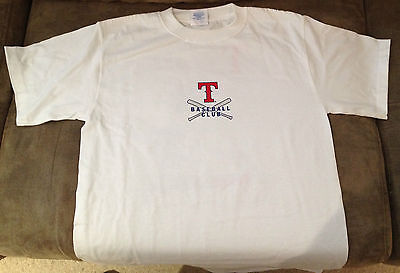 Brand New Licenced Baseball T-Shirts shirt - Texas Rangers Medium
