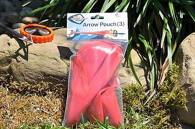 THE POCKET SHOT Arrow Pouch 3 Pack Shoot Full Length Arrows up to 130 FPS!