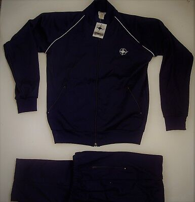 New!! Mens Ts61 Simpson Retro Tracksuit (Jacket & Pants) Size 16 Small/medium