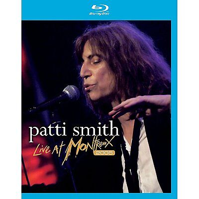 F1 BRAND NEW SEALED Patti Smith Live at Montreux 2005 (Blu Ray, AUS Stock)