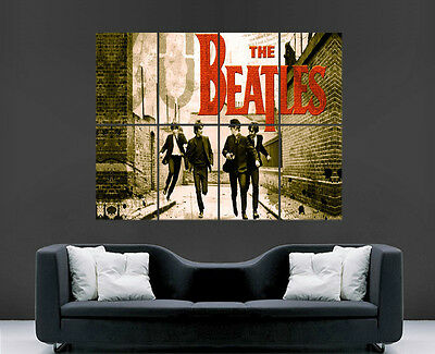 The Beatles Poster Music Band Legends  Wall Art Large Giant Print Picture