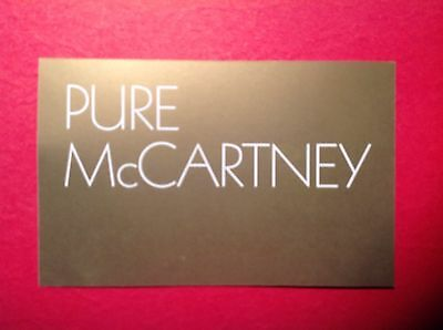 MP3 DOWNLOAD COUPON ONLY Paul McCartney PURE 4 Disc Greatest Hits Not LP CD Dvd