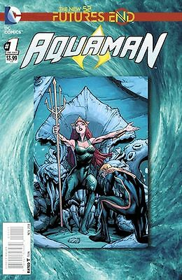Aquaman Futures End #1 (2014) Standard Cover 1St Printing Bagged & Boarded