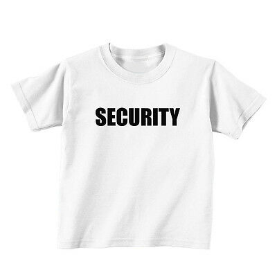 Security Baby Toddler Kid T-shirt Tee - 6mo Thru 7t