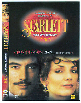 Scarlett (1994) - Joanne Whalley, Timothy Dalton (2-Disc) DVD *NEW
