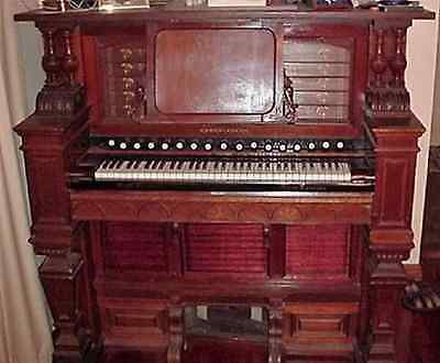 Smith American ; Connoisseur ; Antique Reed Organ