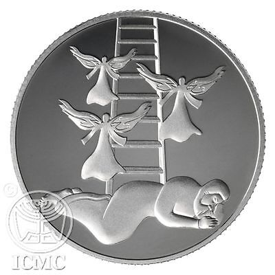 Israel 2014 Jacob's Dream Silver Prooflike coin Commemorative Coins Collectible