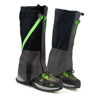 Outdoor Hiking Hunting Snow Snake Waterproof Boots Legging Gaiters Cover
