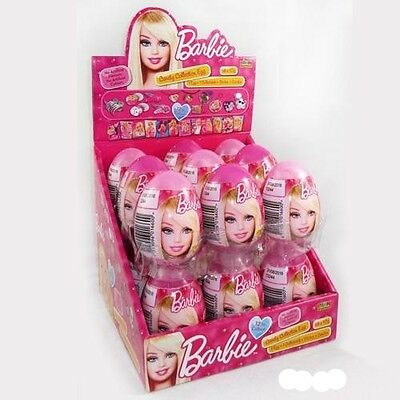 18 x Park Avenue Barbie Candy Collection Egg 10g