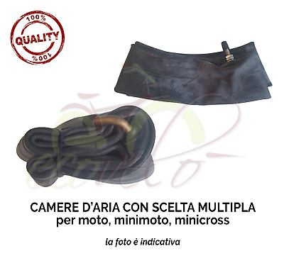 Camera D'aria Per Moto Scooter Vespa Enduro Cross Motard Tubo Valvola Inner Tube