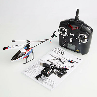 V911-2 4CH 2.4G Mode 1 Right Hand Gyroscope RTF RC Helicopter