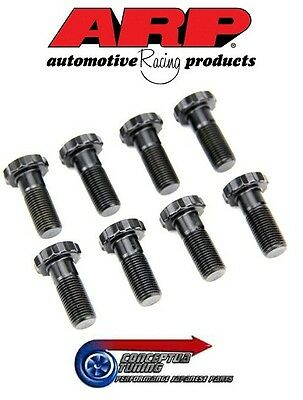 Set 8 Uprated ARP Pro Series Flywheel Bolts- For RNN14 Pulsar GTiR SR20DET