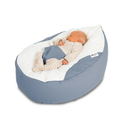 Luxury Cuddle Soft Gaga Baby Bean Bags with Adjustable Harness - Filling Incl.