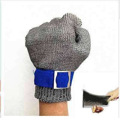 Safety Gloves Butcher Cut-Proof Stainless Steel Metal Resistant Kitchen glove