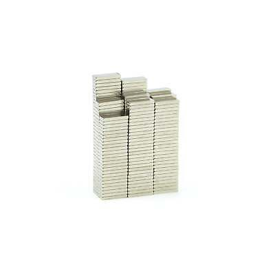 Tiny 8mm x 3mm x 1mm N52 strong Neodymium block magnets craft fridge BULK PACKS