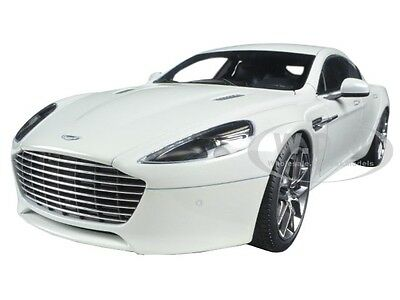 2015 Aston Martin Rapide S Stratus White 1/18 Diecast Model Car By Autoart 70256
