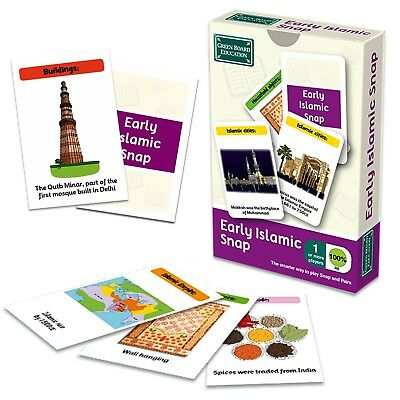 Early Islamic Civilisations Snap Game - History Playing Card for Kids 5+ Years