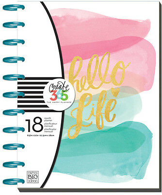 Me and My Big Ideas Create 365 The Happy Planner - Stay Golden The BIG Planner