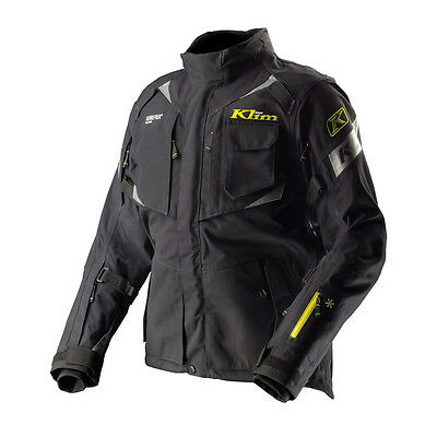 Klim Badlands Pro Jacket Goretex Black Motorcycle Offroad Dual Non-Current