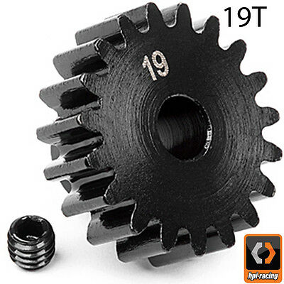 HPI # 100918 - PINION GEAR 19 TOOTH (1M/5mm SHAFT) Savage Trophy Vorza FLUX HP