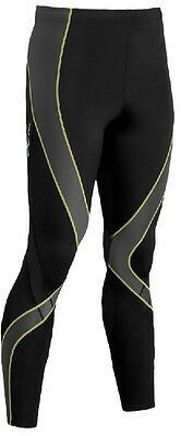 CW-X Men's Pro Tights 240809-765 Size Large Black/Yellow Make an Offer