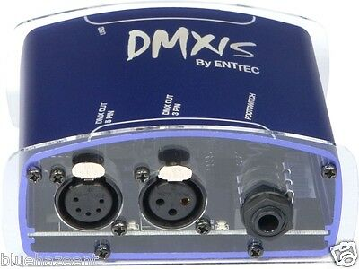 ENTTEC DMXIS 1 Universe DMX lighting software for mac or windows