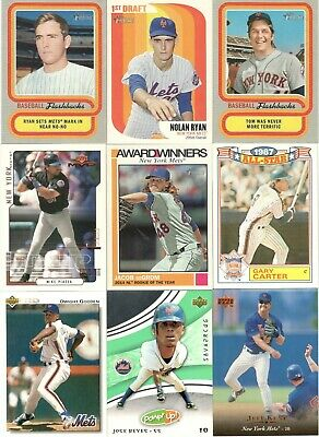 New York Mets 53-Card Chase and Vintage Card Collector's Lot