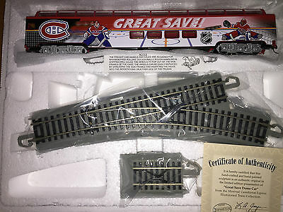 Hawthorne Village Montreal Canadians Great Save Dome Car HO Scale