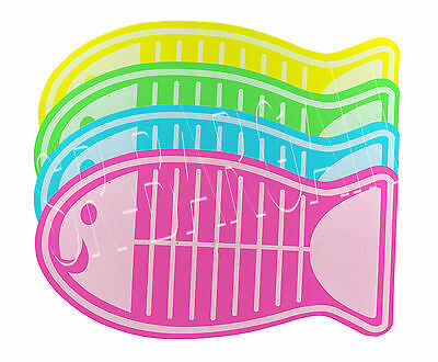 48 x 28 CM Fish Shape Eva Foam Cat Puppy Dog Pet Mat Feeding Food Bowl Placemat