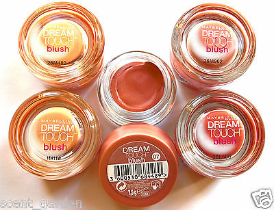 Maybelline Dream Touch Blush, Cream Blusher  ❤ 01 Apricot, 06 Berry & 07 Plum! ❤