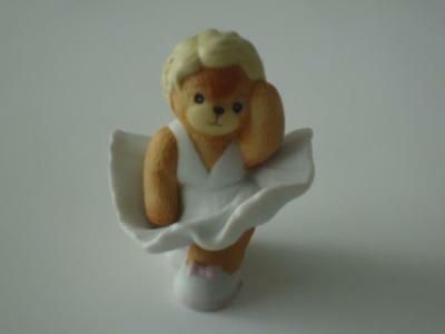 LUCY & ME Marilyn Monroe Bear ~ Enesco Lucy Rigg 1990