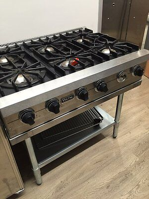 "Viking 36"" inch 6 Burner Pro Range Top. Gas or Propane"