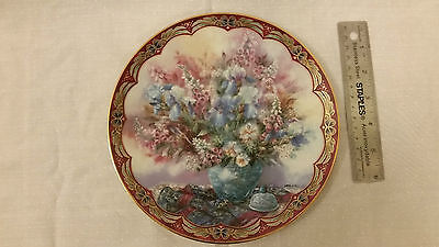 """Beautiful collectible Plate """"Delicate Dancers"""" Limited Edition by Lena Liu"""