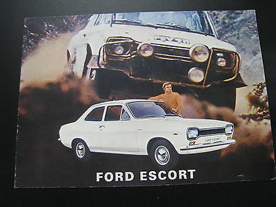 Brochure Ford Escort Mk. l (1970-1971) (Nederlands)