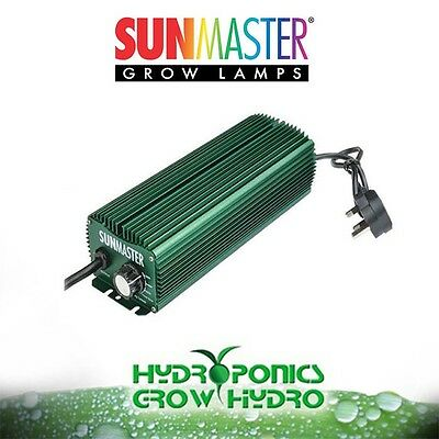 Sunmaster 600W Digital Dimmable Ballast -  HPS MH