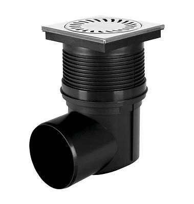 Underground Drainage Bottle Gully Floor Drain  Water Trap Hopper KVB DN 110 N