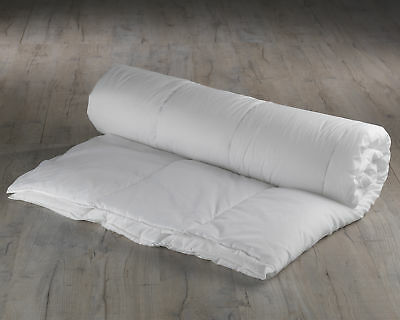 His and Hers Dual Tempo Hollowfibre Anti-Allergy Polycotton Duvet 4.5 & 9 TOG
