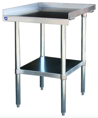 "NEW 12 x 30 Equipment Stand Stainless Steel NSF #2082 Griddle Hot Plate 24"" Base"