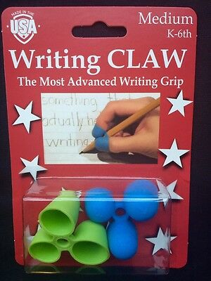 Writing Claw for Legible Hand Writing for Right and Left Handers - Blue / Green
