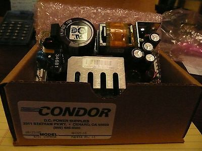 NEW CONDOR GLC65-15 DC Power Supply  15V  4.0A  2.7A