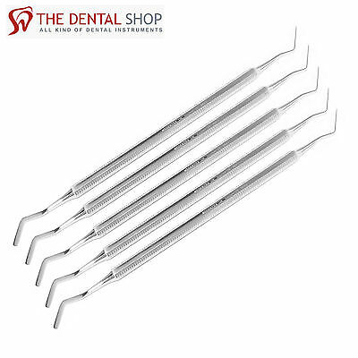 New Set of 5 Dental Heidman Composite Filling Spatula Double Ended Lab Tools Kit